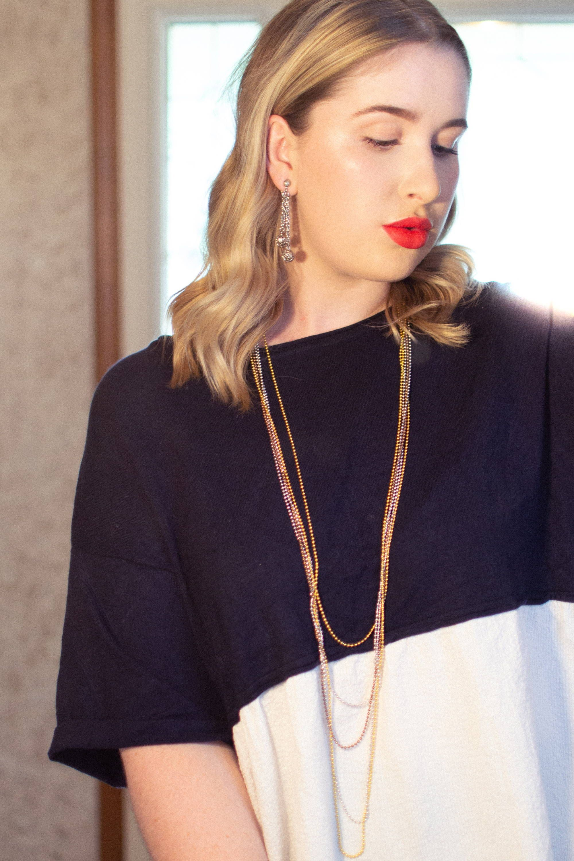 Pin On Styling Ideas Fashion Inspiration Styling Inspiration How To Wear Jewelry