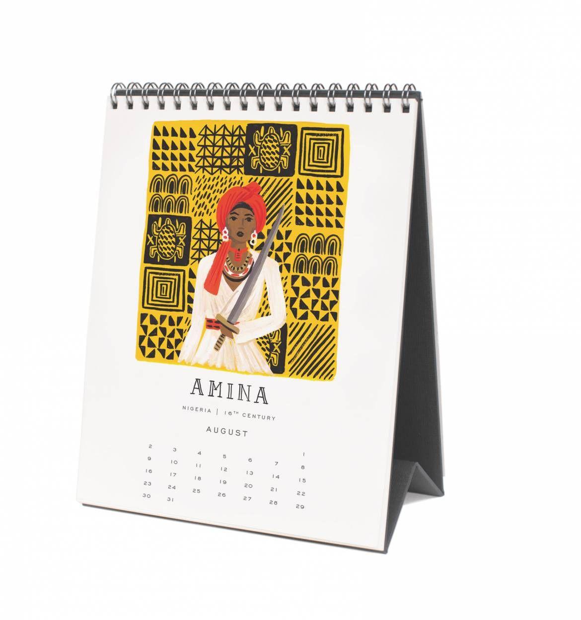 2015 Monarch Spiral-bound Desk Calendar Fashion