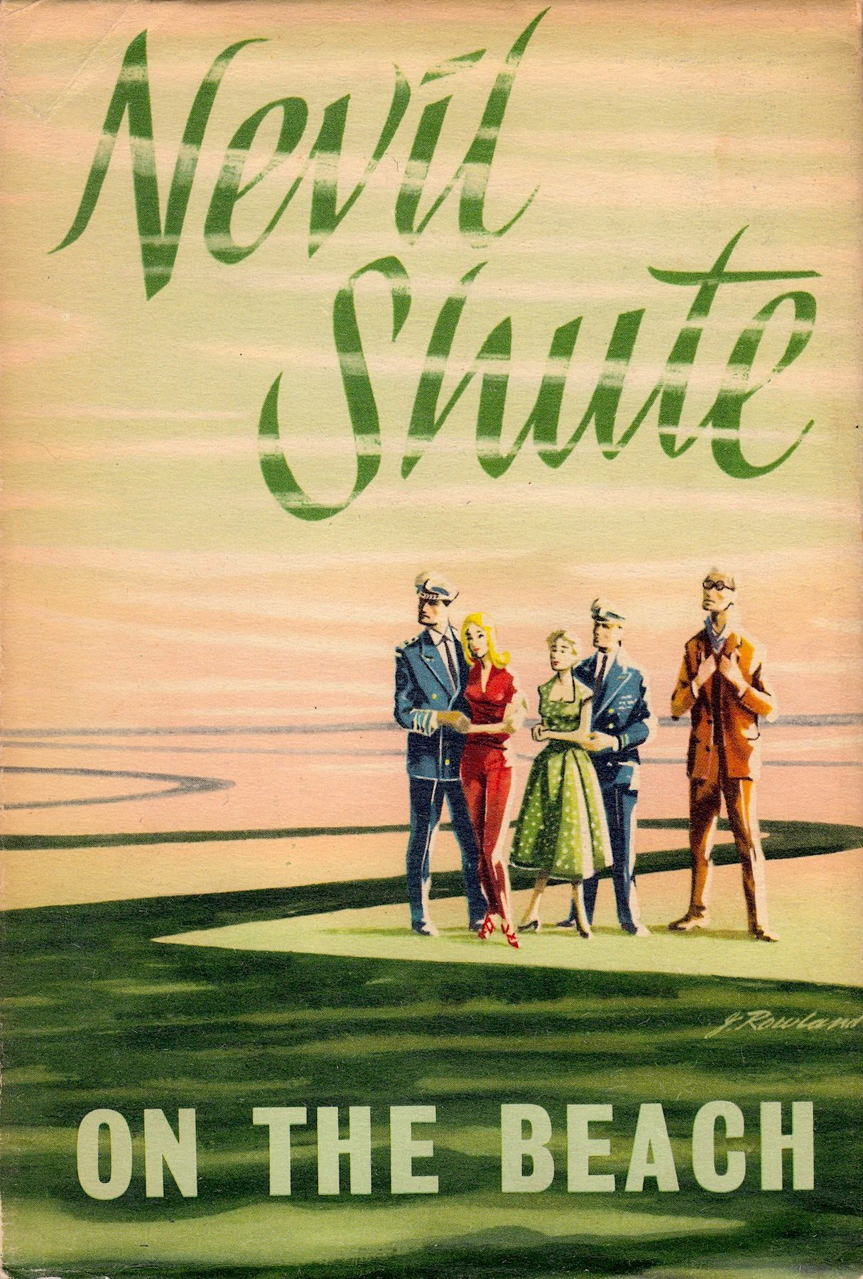 ON THE BEACH By NEVIL SHUTE 1st Australian Edition 1957 Book Jacket
