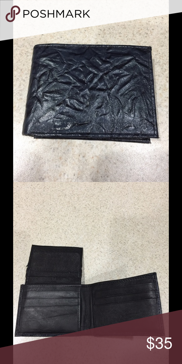 Men's wallet Shark skin wallet. Bought when out of the country. New never used. Accessories