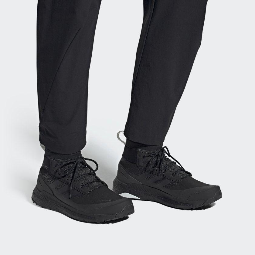 Shop the terrex free hiker gtx hiking shoes black at