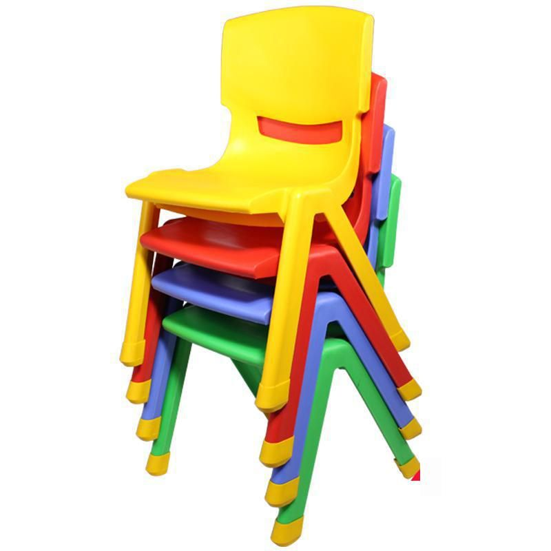 Thicker Child Chairs Back Stool Plastic Baby Chair Home Non Slip Children Over 2 Years Old Kids Chairs Kids Table And Chairs Baby Chair