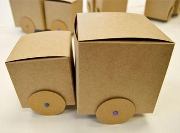 Cardboard Craft Boxes To Decorate Shoebox Crafts  Diy Box Dump Truck  Diy Shoebox Craft