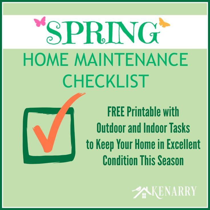Photo of Checkliste für die Wartung von Spring Home: Kostenlos zum Ausdrucken