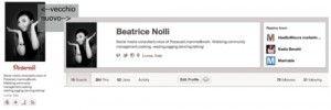 [NEW POST] by @Beatrice Nolli - Nuovi profili per #Pinterest, non solo restyle