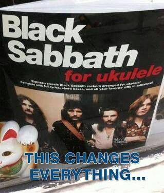 Black Sabbath for the ukulele