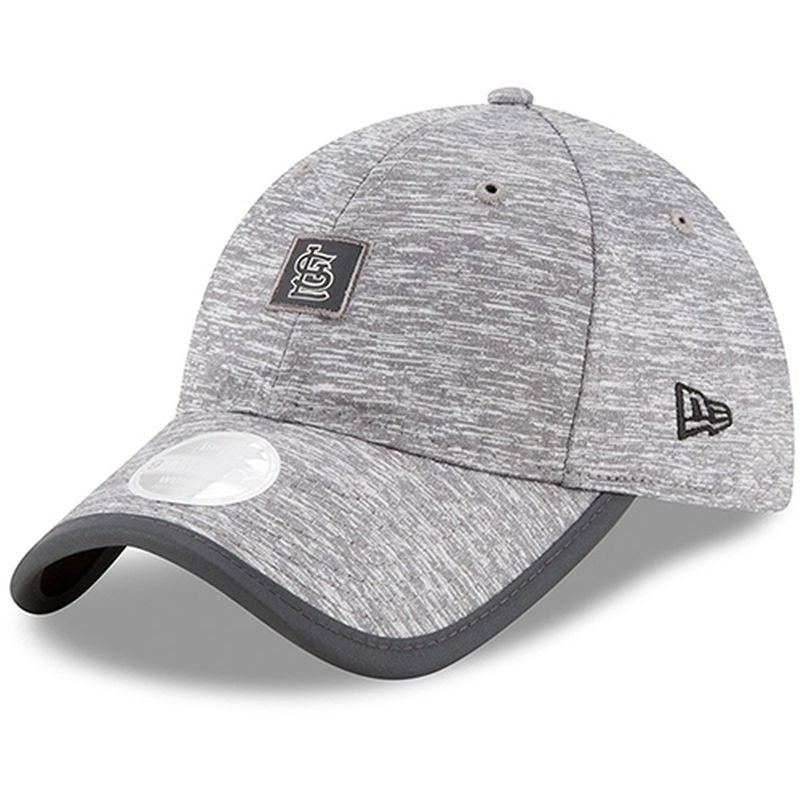 the best attitude c50a6 394ad ... sale st. louis cardinals new era womens trimflect 9twenty adjustable hat  gray 3e1b3 89ba5