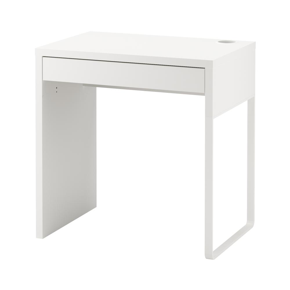 Micke Desk White 28 3 4x19 5 8 Ikea In 2020 Ikea White Desk Small White Desk Micke Desk
