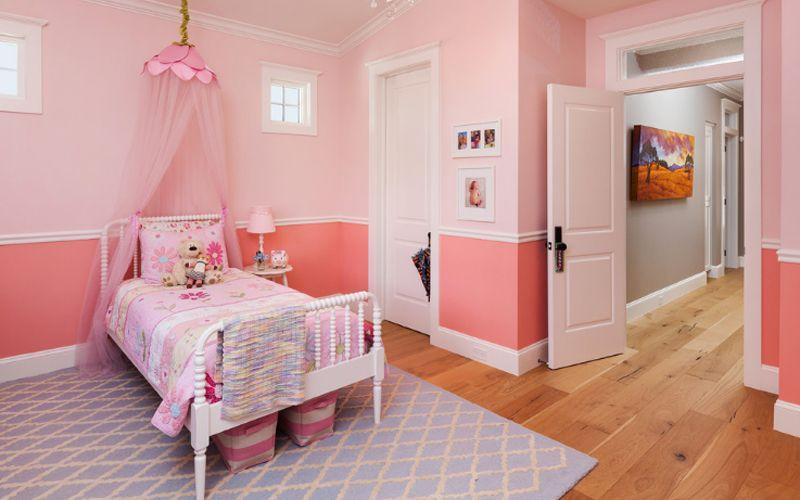 Kamar Tidur Anak Perempuan Minimalis Warna Pink Kamar Anak In 2019