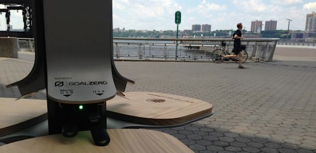 New Yorkers Get a Quick Solar Charge While On the Go, Thanks to AT