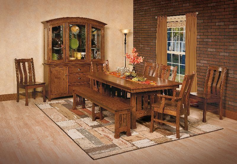 Exceptionnel Dining Room Sets   Amish Furniture Madison   Olde_Century_Setting AC