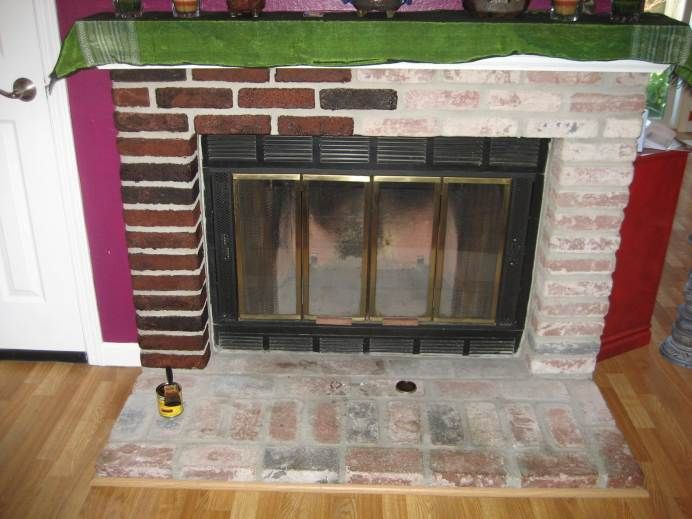 Lowe S Fireplace Mortar : Best stain brick ideas on pinterest stained