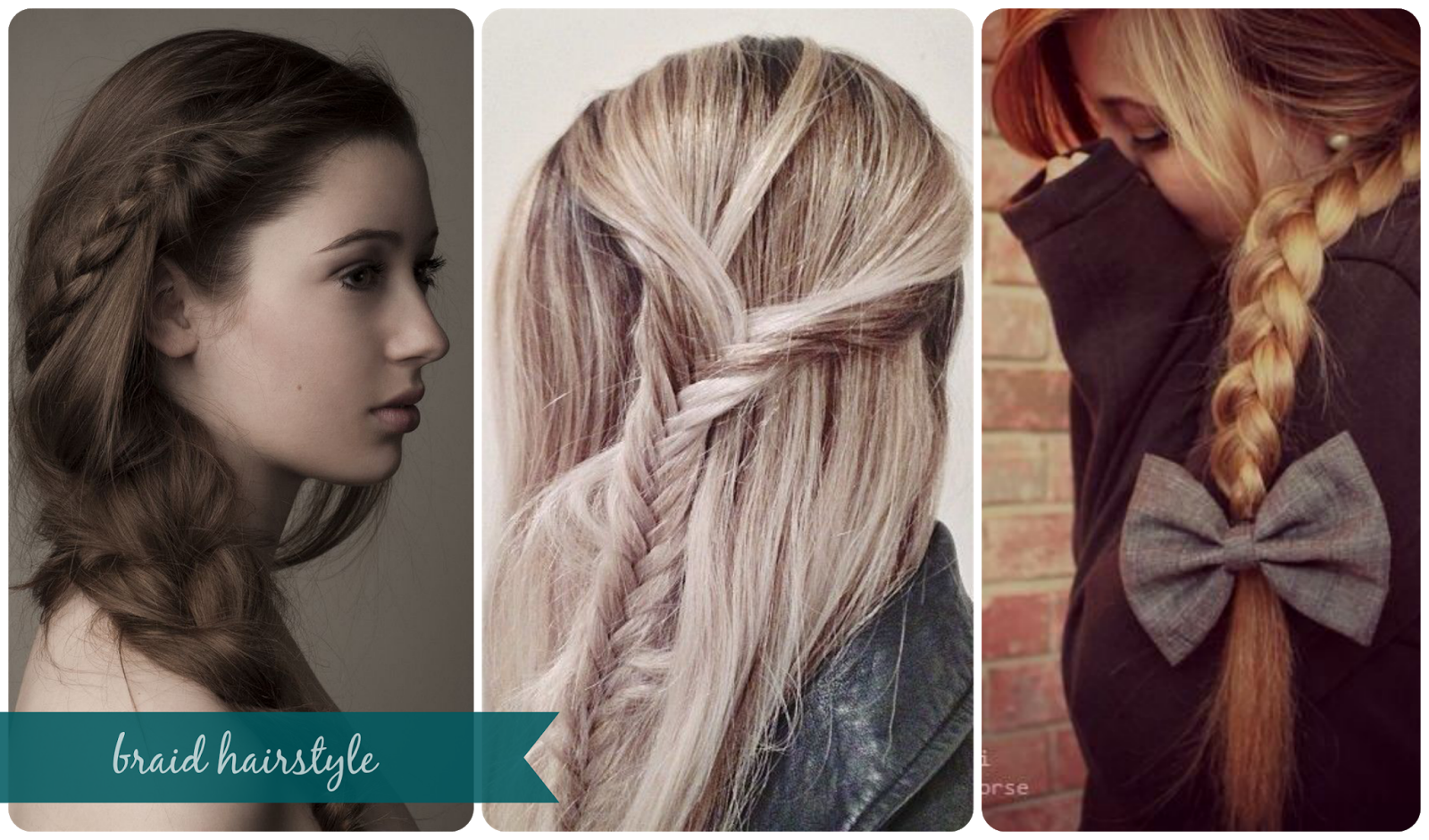 Braid Hairstyle Trenzas Recogidos Semi Recogidos Cute Ghd