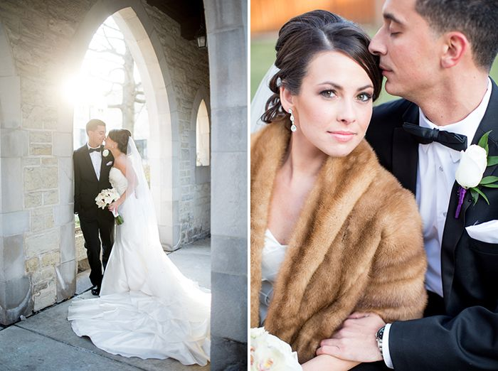 Stylish Winter Wedding in Chicago   Images by Jill Tiongco Photography   Via Modernly Wed   28