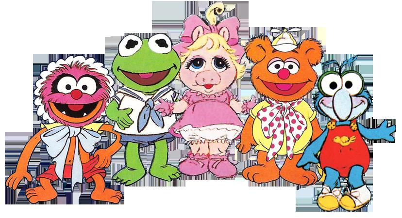 Preparate Para Sentir El Azote Del Tiempo Muppet Babies Muppets 80s Cartoons