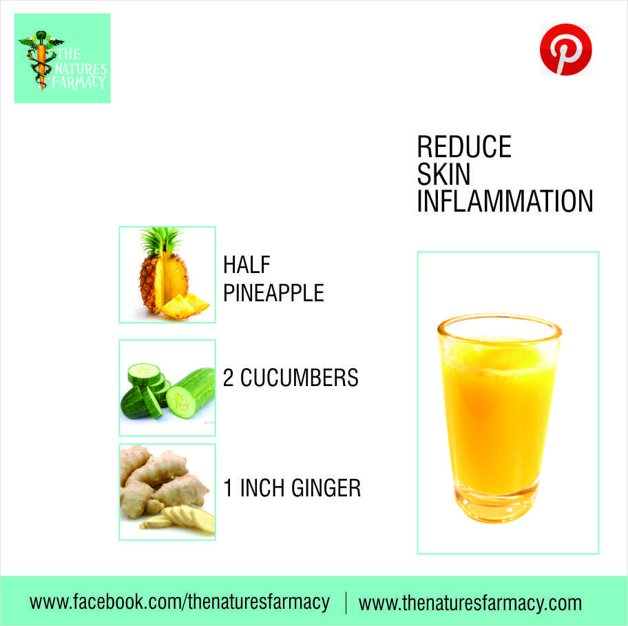 REDUCE SKIN INFLAMMATION Inflamed skin? Rashes? Stay