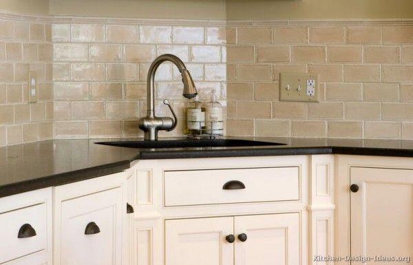 Kitchen Kitchen Tile Backsplash Ideas And Inexpensive Backsplash Enchanting Kitchen With Subway Tile Backsplash Concept