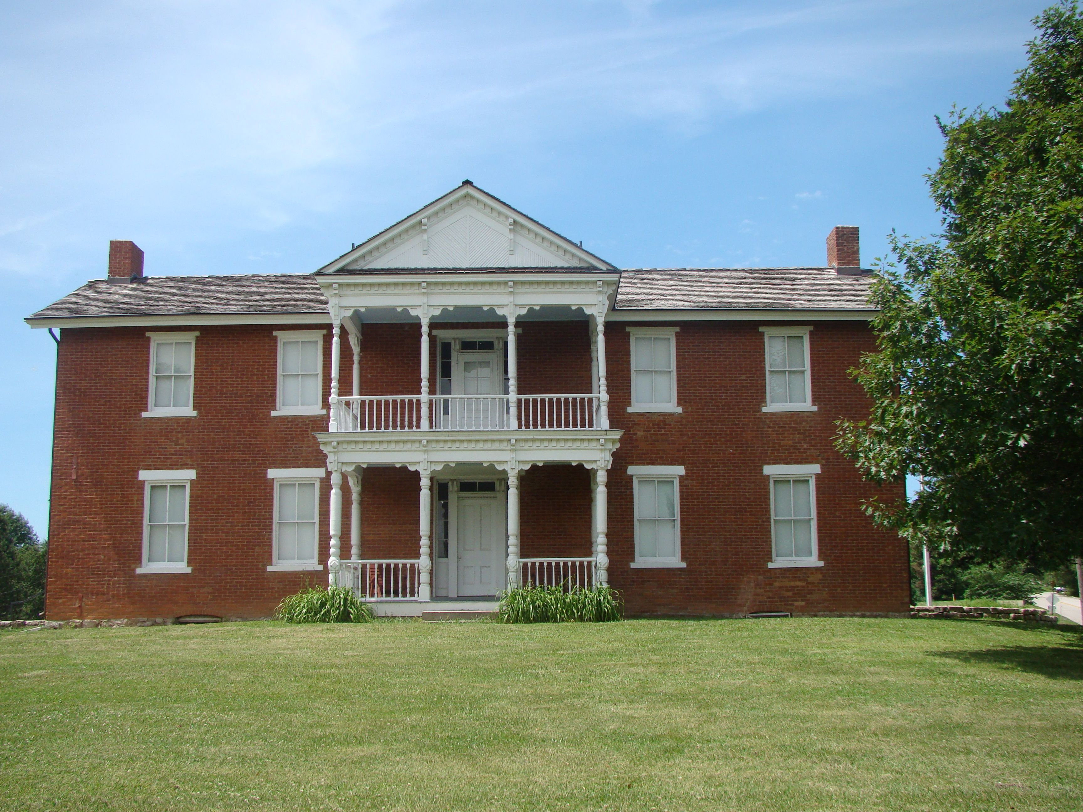 See the oldest farmhouse in Kansas at Grinter Place State