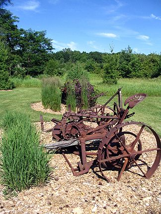 Garden Faerie S Musings Farm Landscaping Antique Landscaping Old Farm Equipment