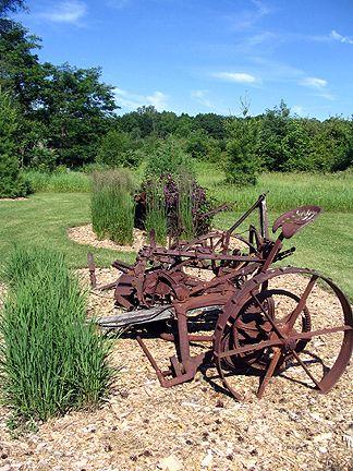 Garden Faerie S Musings Farm Landscaping Antique Landscaping Old Farm Equipment