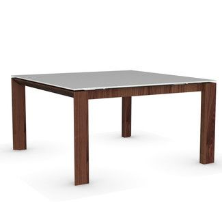 Calligaris Omnia Glass Square Extendable Table With Images