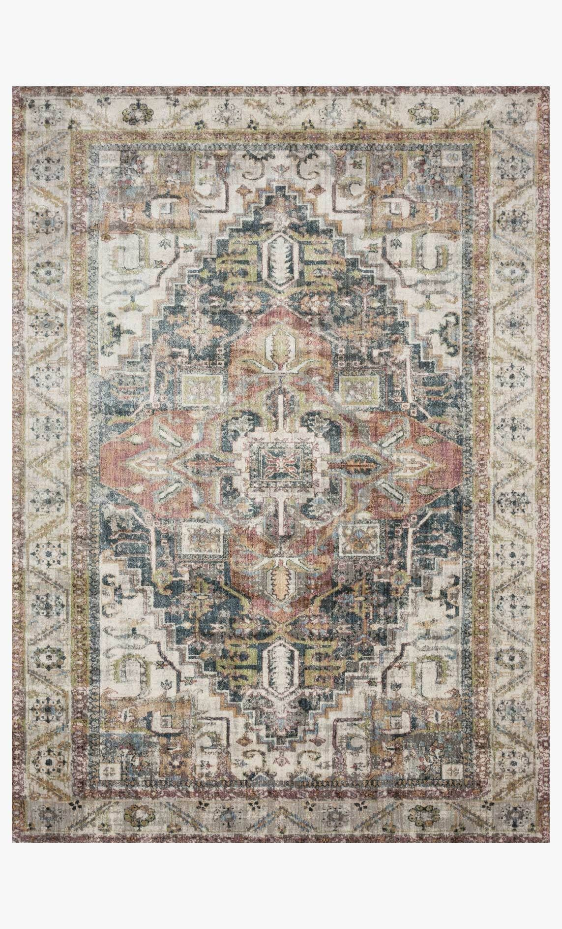 Anastasia Rug In Ivory Multi In 2020 Colorful Rugs Loloi Rugs Rugs