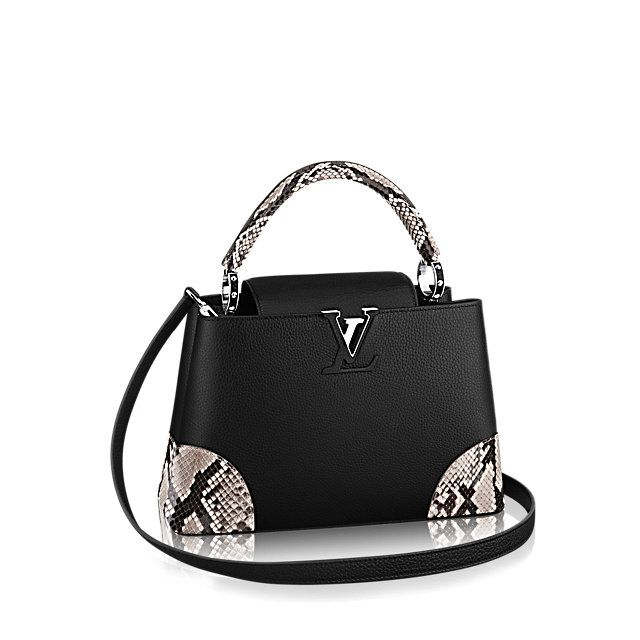 eb75511ccf Capucines PM Python Femme Sacs à main ICÔNES | LOUIS VUITTON | it ...
