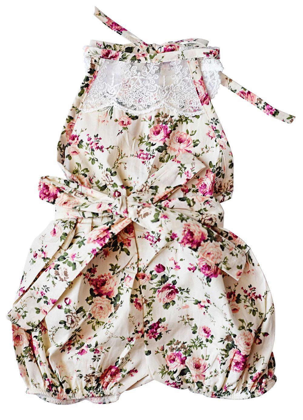 89f715364 Peach Marmalade Vintage Lace Jumpsuit Romper