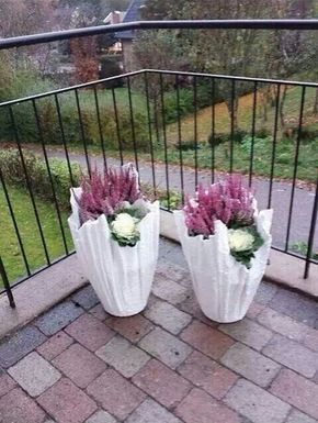 Doniczki Cement Projects To Try Diy Concrete Planters