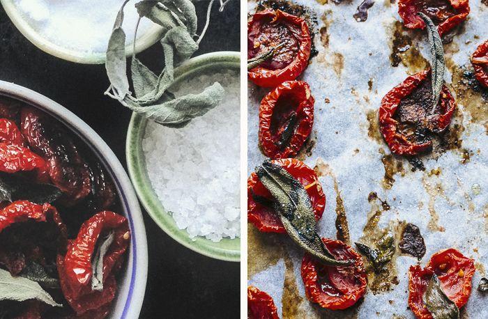 Suvi sur le vif - Blogi | Lily.fi /// oven dried tomatoes + sage