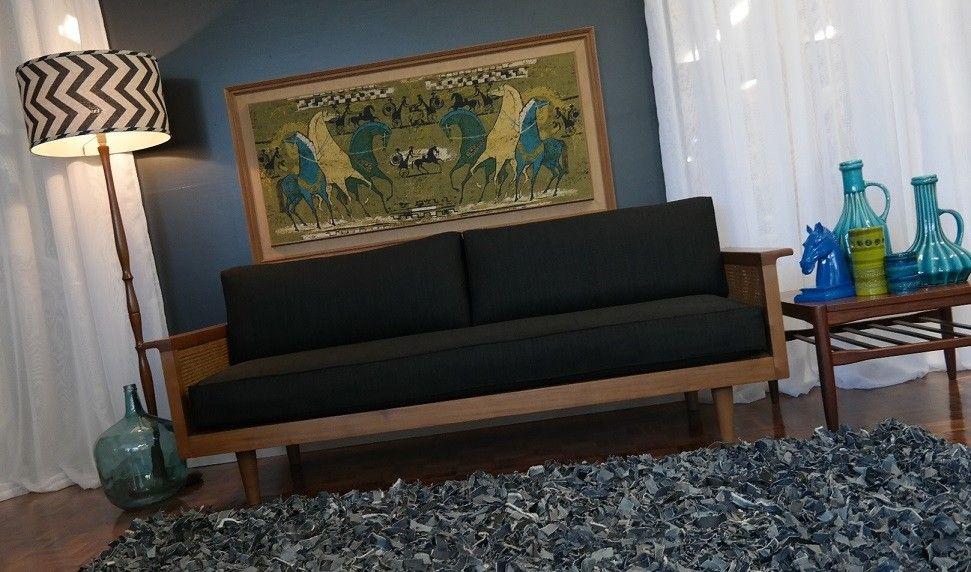 Australian Artes Studio 1958 coachwood sofa.