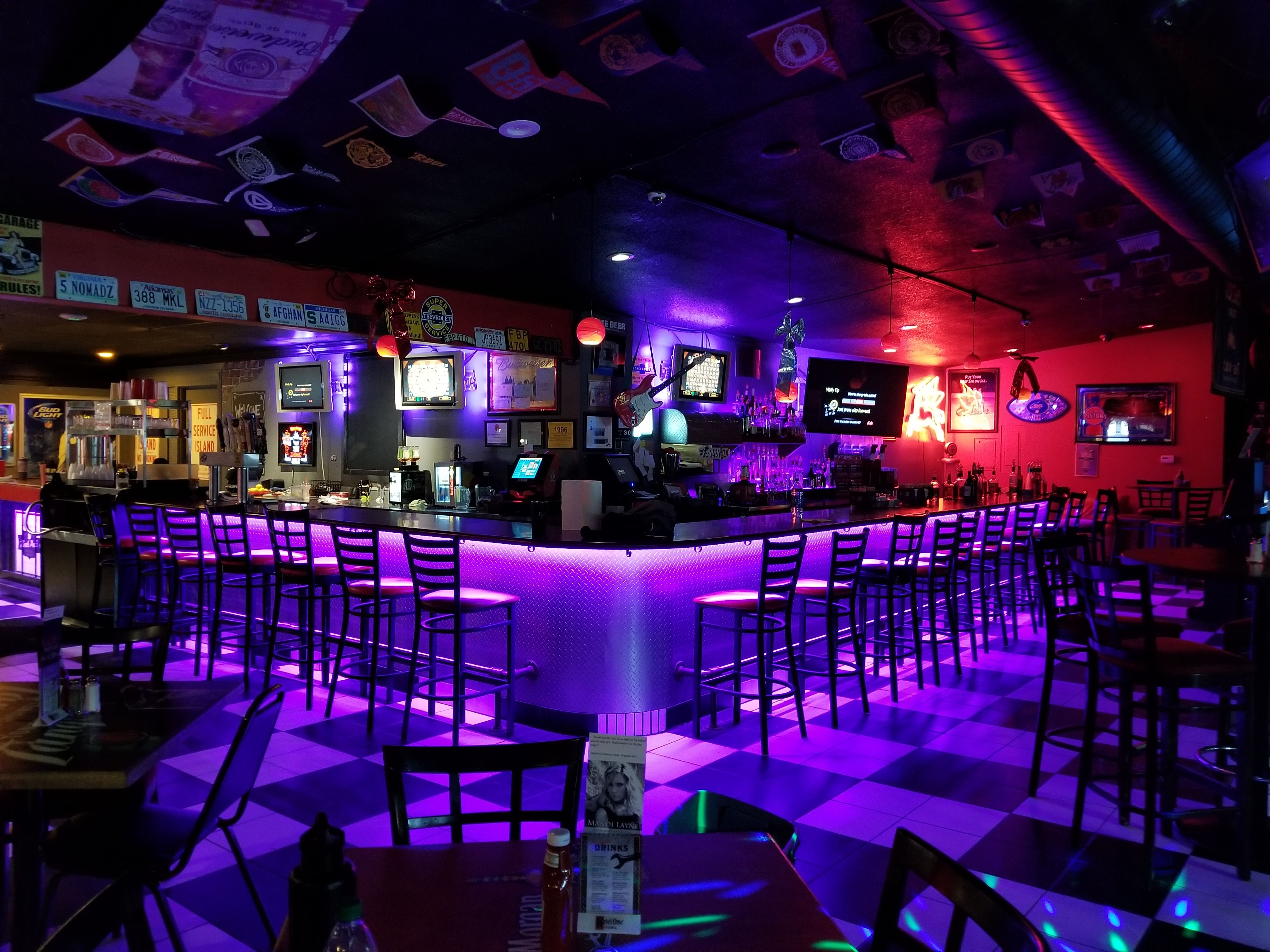 Custom LED Bar lighting. Using our Wi-Fi led network FamousMods is ...