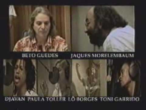 Bastidores do CD Dias de Paz de Beto Guedes - 1998 - parte 1