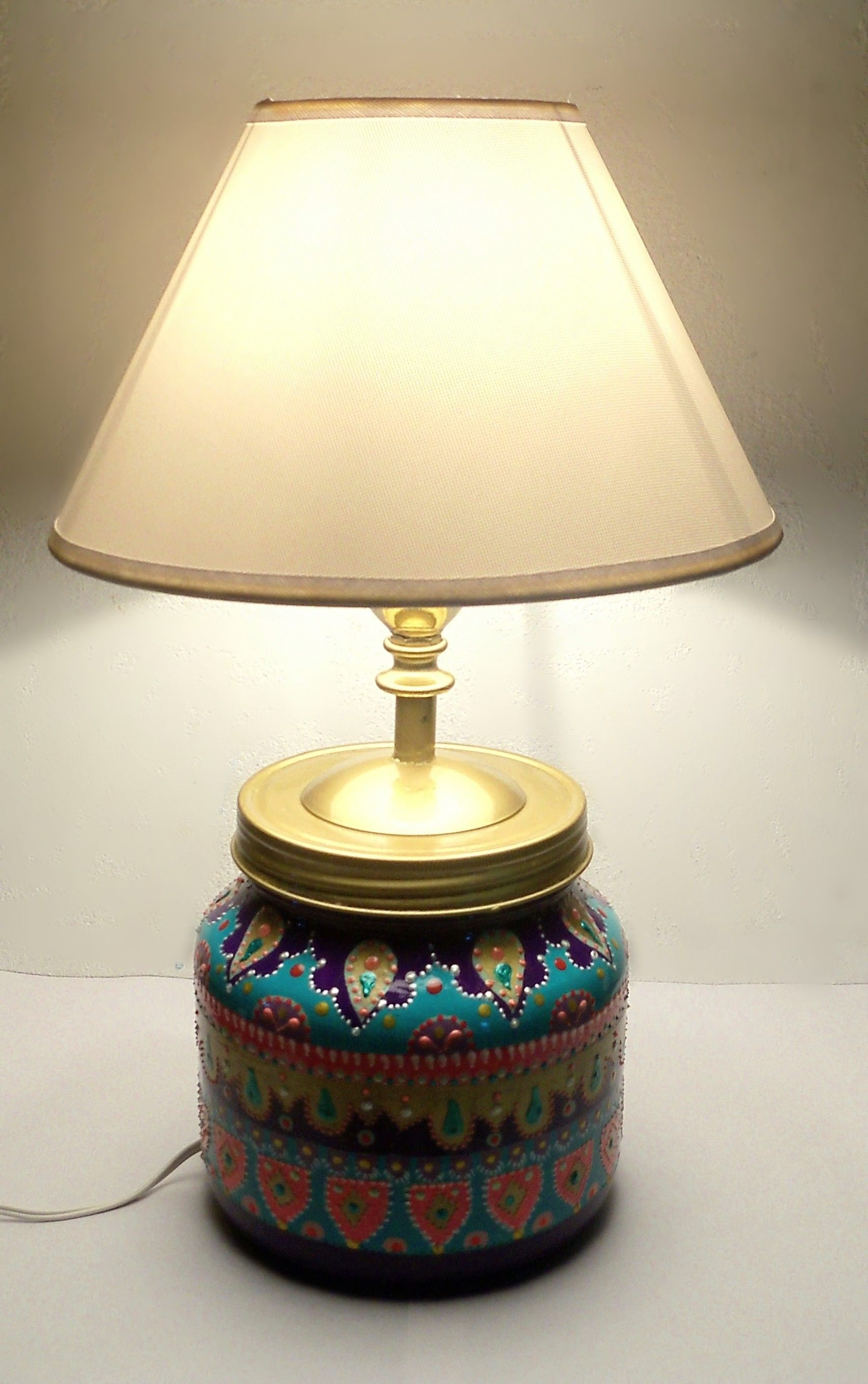 LAMPARA RECICLADA, $550 en https://ofelia.com.ar