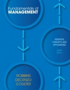 Fundamentals Of Management Essential Concepts And Applications 8th Edition Libros De Administracion Libros De Investigacion Administracion