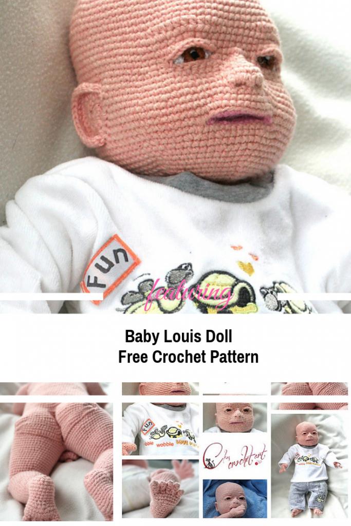 Amazing Crochet Baby Doll Free Pattern | Crochet 4 DOLLS | Pinterest ...