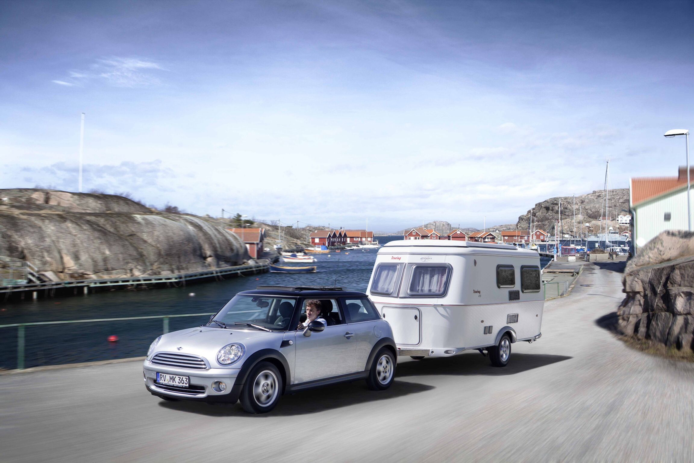 mini hymer eriba touring camping caravan scamp. Black Bedroom Furniture Sets. Home Design Ideas