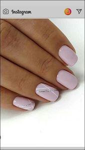 133+ natural summer pink nails design for short square nails page 4