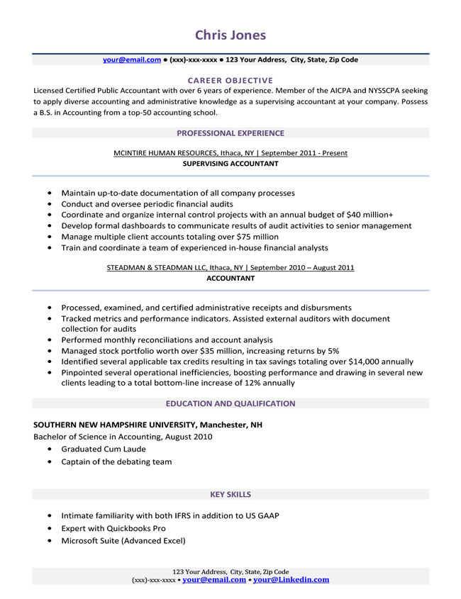 Simple Resume Template Free Download in 2020 Simple