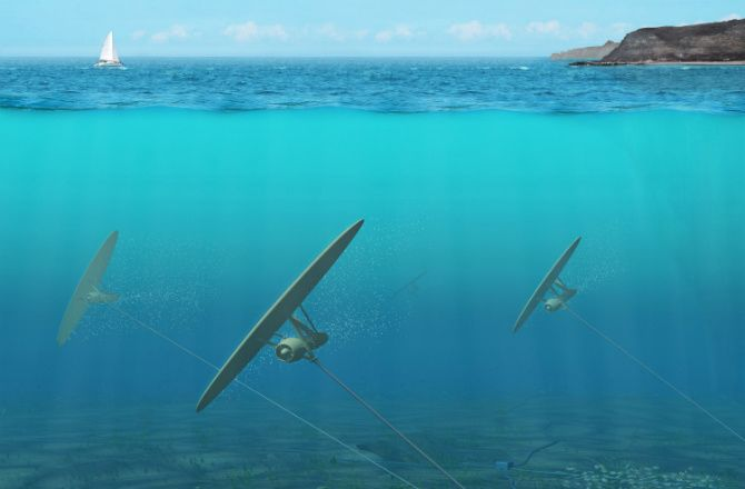 Researchers in Massachusetts are working on new technology to generate electricity from under the ocean...