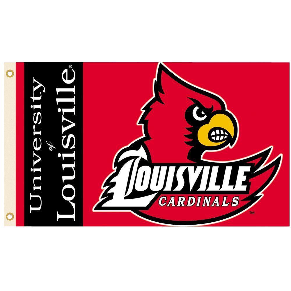 Bsi Products Ncaa 3 Ft X 5 Ft Louisville Flag 95032 The Home Depot Louisville Cardinals Baseball Wallpaper University Of Louisville