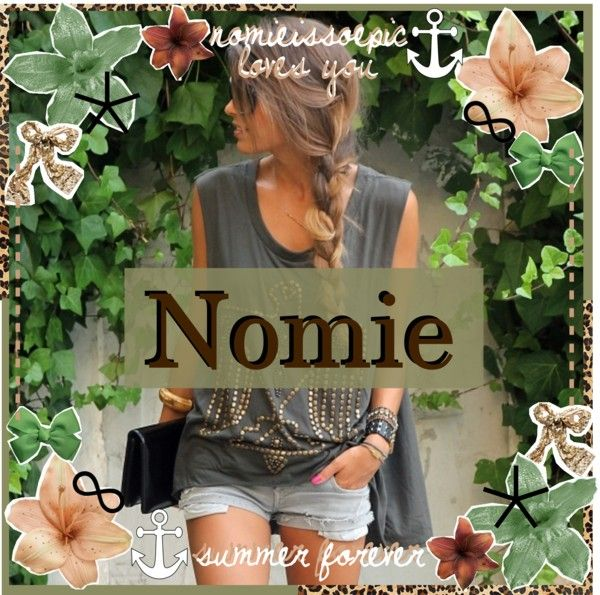 """icon for nomie :)"" by cornwashere ❤ liked on Polyvore"