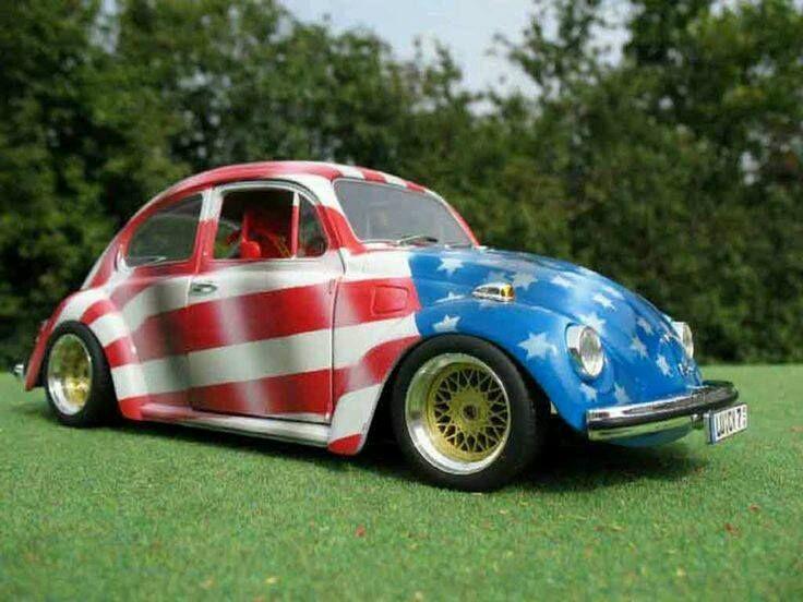 Bless America Volkswagen Vw Super Beetle Beetles