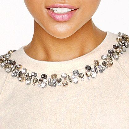 Necklace sweatshirt - Five winter essentials - Women's Women_Feature_Assortment - J.Crew