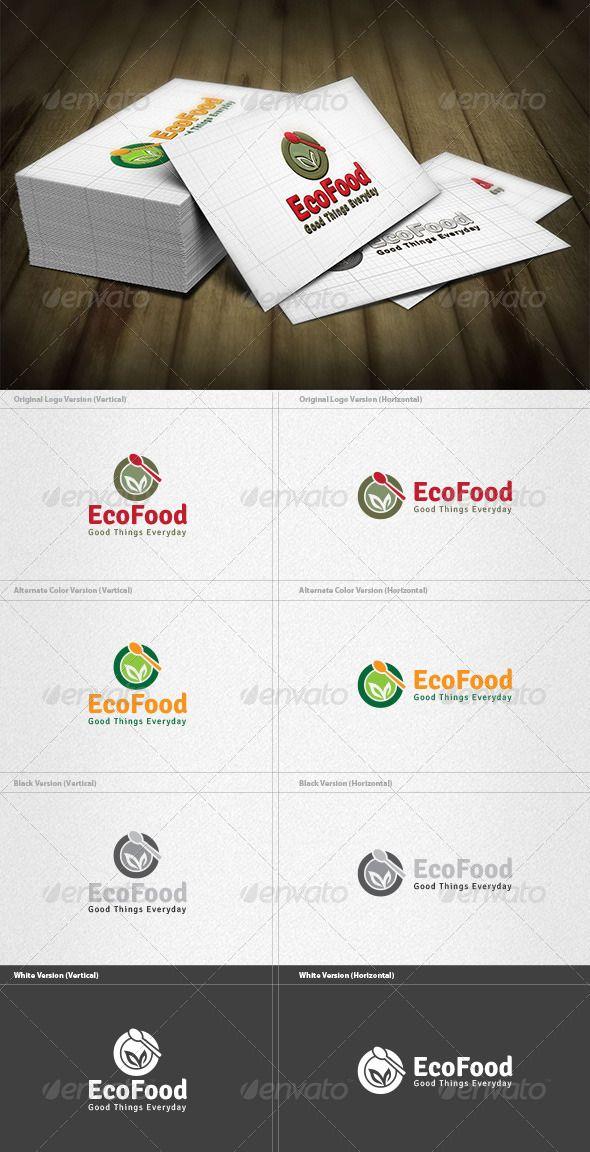 eco food logo