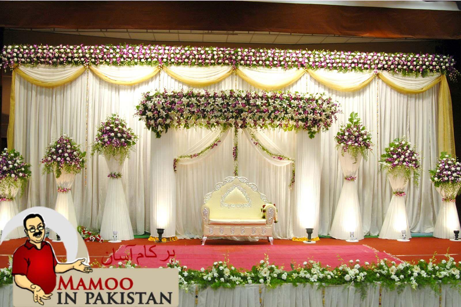 Wedding stage decoration ideas kerala  Pin by MamooInPakistan on Stuff to Buy  Pinterest  Wedding stage