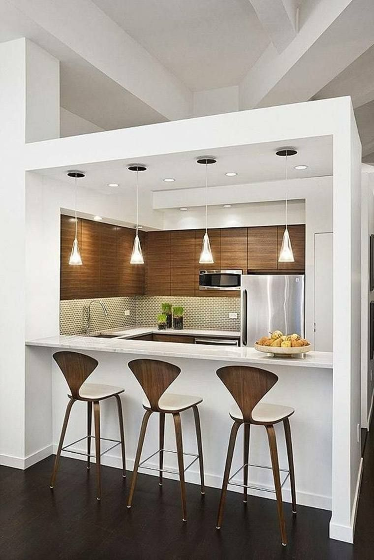 Bar Cuisine Ouverte Sur Salon Avec Bar Cuisine Design Et Cuisine Ouverte Avec Bar Sur S Kitchen Bar Design Kitchen Remodel Small Kitchen Design Small