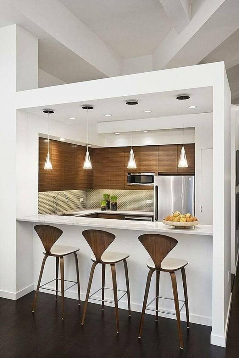 Les cuisines ouvertes ont la cote ! bar » cuisine ouverte sur salon avec bar - cuisine design ...