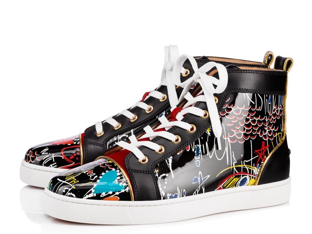basket louboutin homme occasion
