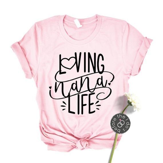 Download Loving Nana Life Relaxed Boyfriend Fit Tee /// Nana Shirt ...